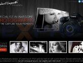 Thiết kế website nghệ thuật, nhiếp ảnh đẹp giá rẻ